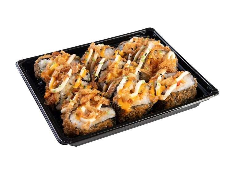 Crunchy Sushi schotel klein