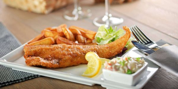 Volendammer Vishandel Peter Tol in Amsterdam Menu Fish and Chips