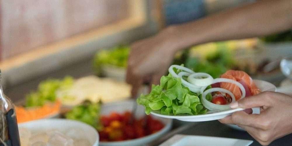 Volendammer Vishandel Peter Tol de Niet-vlees kok